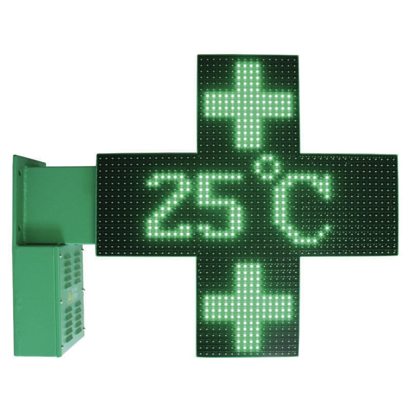 croix de pharmacie programmable avec animation 3D